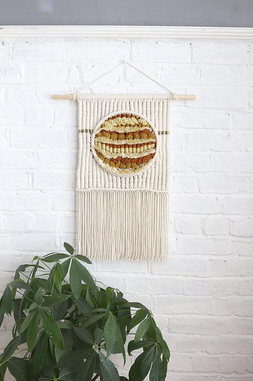 Sahara Sun Macra-Weave Wall Hanging