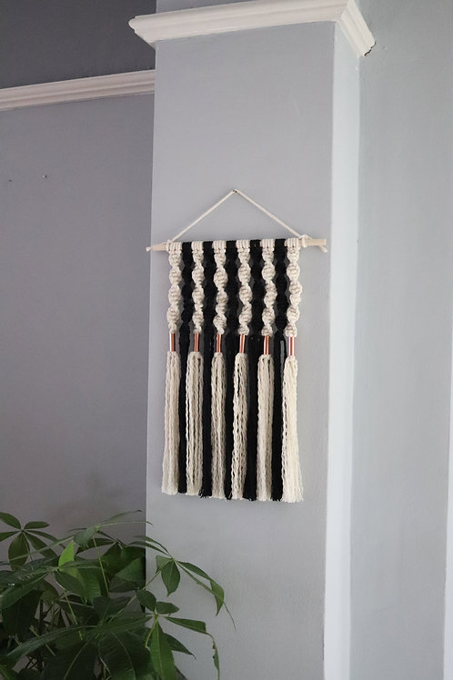 'Adonis' Small Wall Hanging with Copper Beads