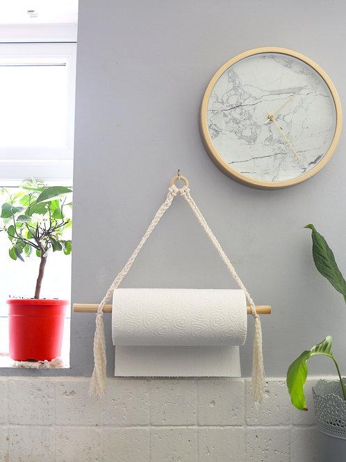 Kitchen Tissue Paper Roll Holder Wooden