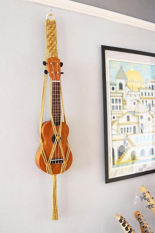 ukulele wall mount hanger by Ellame Designs in the UK