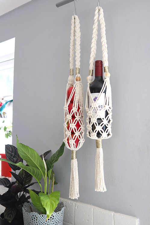 wine bottle water gym fruit holder by ellame designs for the kitchen