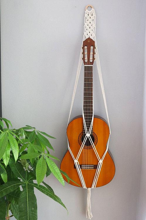 Macrame Patterned Acoustic Guitar Hanger
