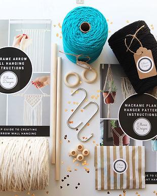 macrame diy rope kits and supplies by ellame designs