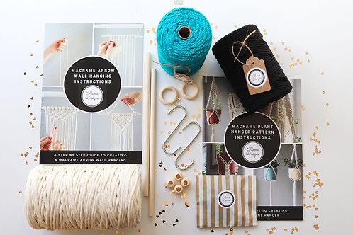 DIY macrame beginners starter kit by ellame designs