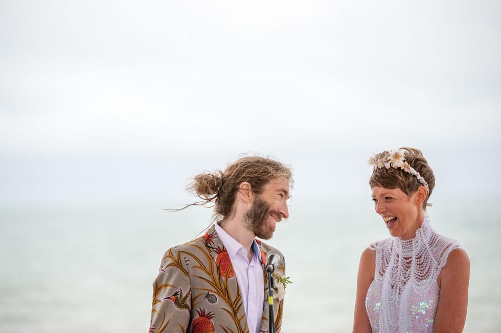 Brighton Pavillion wedding ceremony. Photography by Joe Twigg