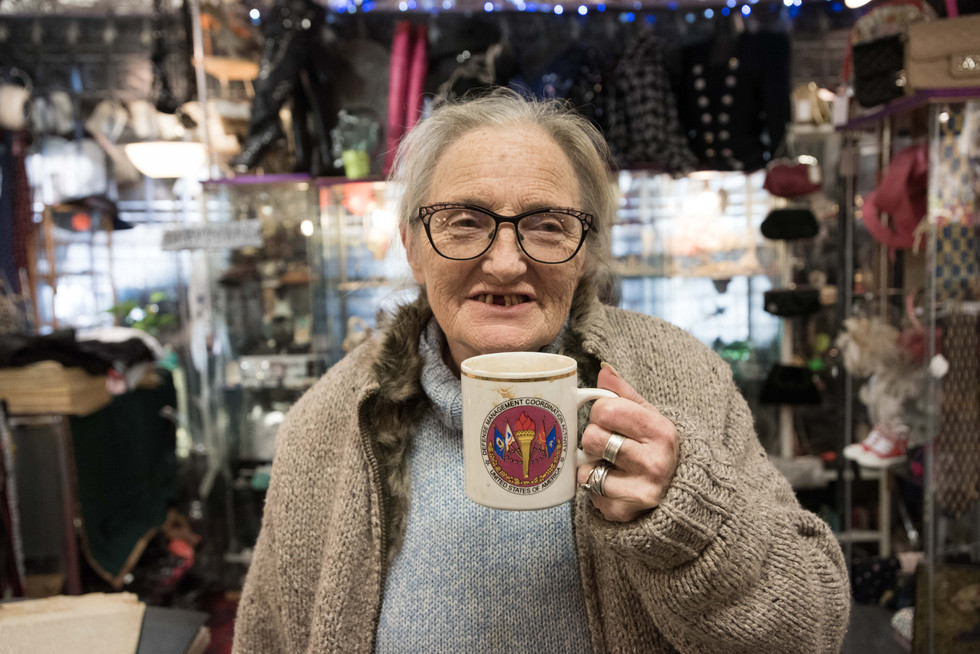 Sue has been in the antiques and oddities trade for many years.