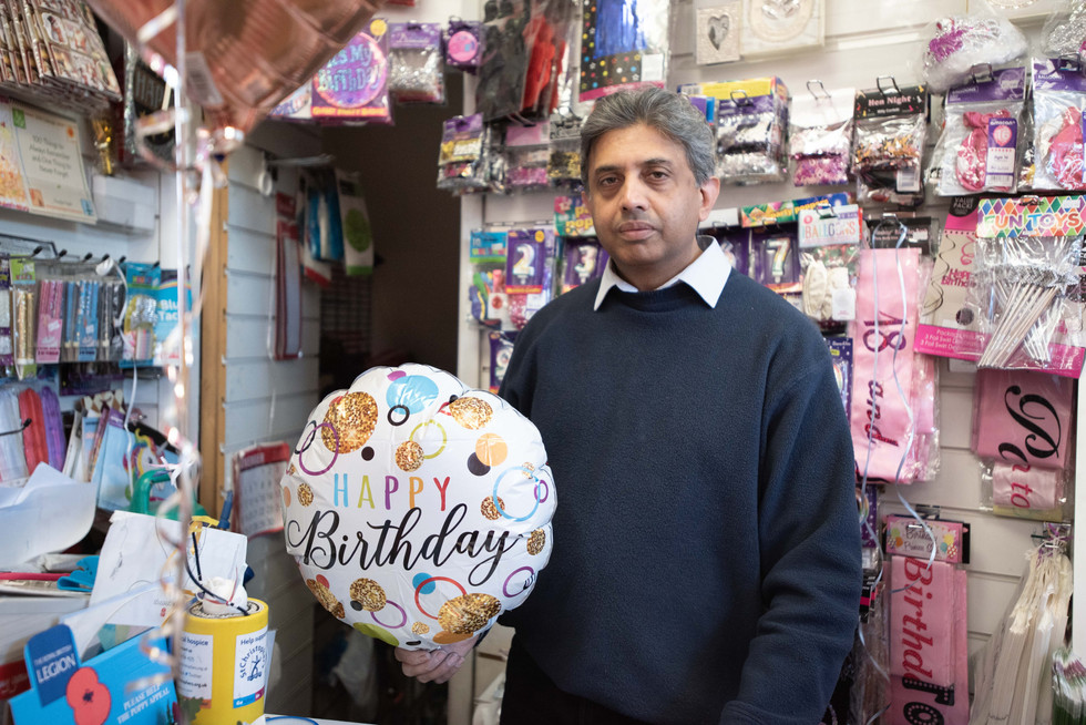 Card Corner has been going since 1990. The owners say whilst they have many local loyal repeat customers, the business is struggling due to big chain stores undercutting prices