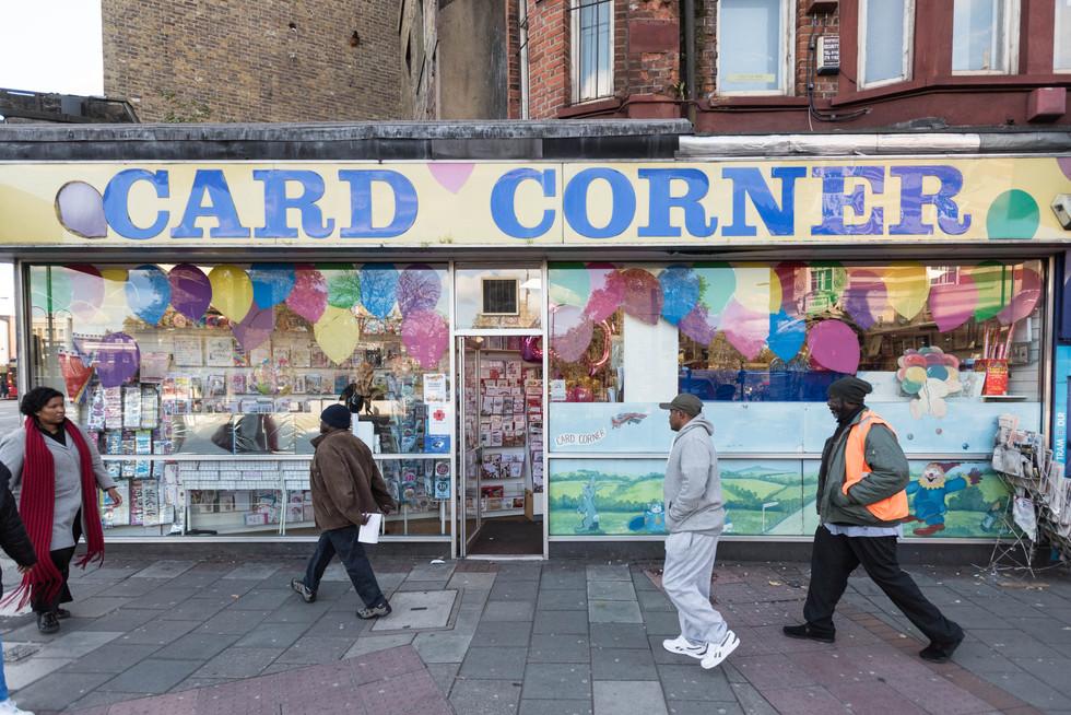 Card Corner shopfront