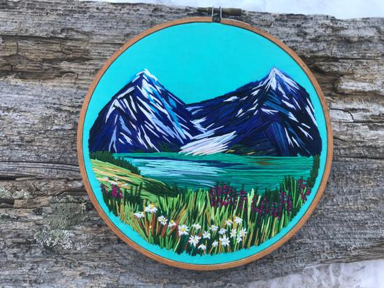 Alaska View // Anna Ricks — Textile