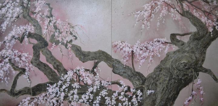 三春瀧桜100×200.JPG