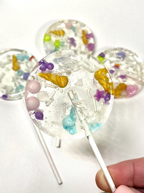 Sprinkle Lollipops