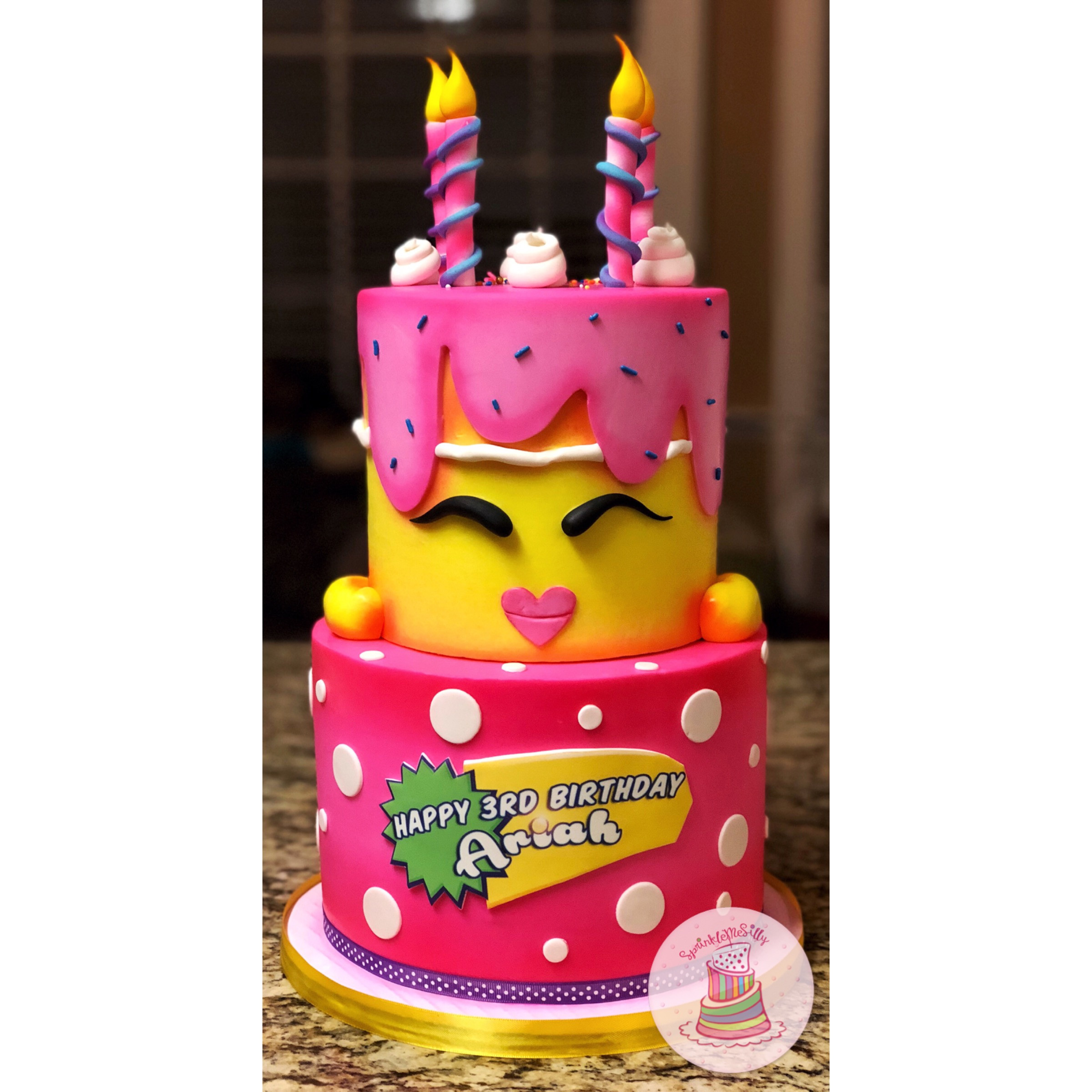 Surprising Fullscreen Page Sprinkle Me Silly Memphis Cakes Funny Birthday Cards Online Overcheapnameinfo
