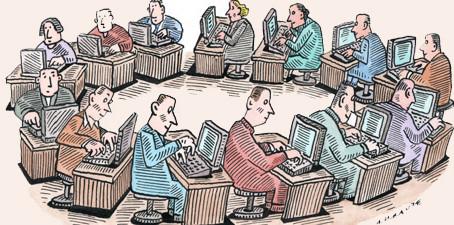 As Burocracias se expandem até o limite de sua ineficiência.