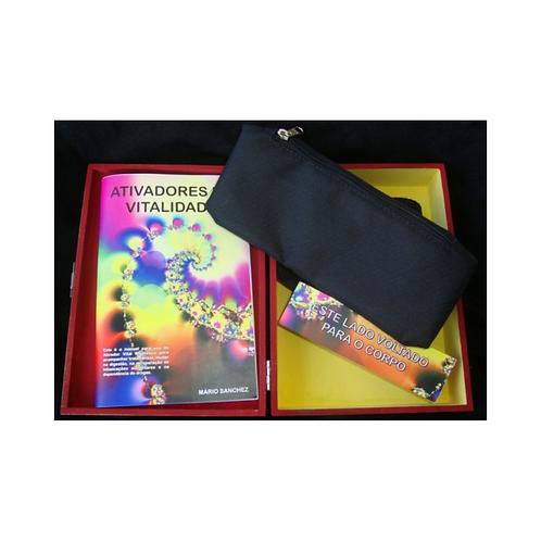 Ativador de Vitalidade - Com 1 aparelho ativador e 1 livro/ Manual