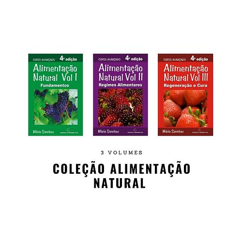 Coleção Alimentação Natural - 03 Volumes