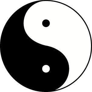 O ETERNO RETORNO - Yin/yang é o símbolo desse conceito de ETERNO RETORNO