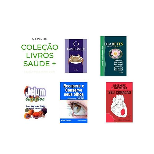 Coleção Livros Saúde + 05 Livros