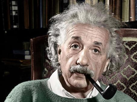Einstein disse que o Universo não se parece com uma máquina, mas sim com um grande pensamento