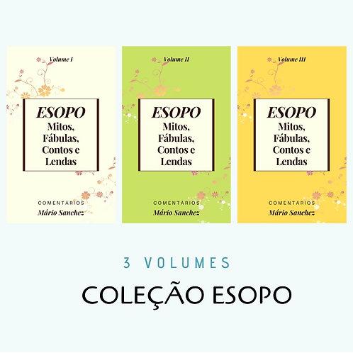 Coleção Esopo - Vols. I, II e III - E-books