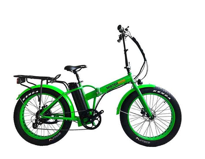 """Misterride Klapp E-Bike Fat Mod: 7000 grass grün sportive 20"""""""