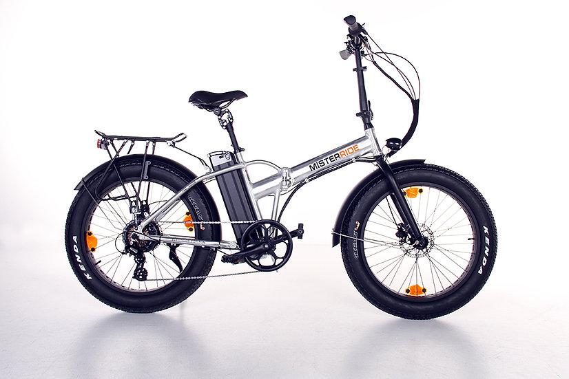 """Misterride Klapp E-Bike Fat Mod: 9000 alu poliert sportive 24"""""""