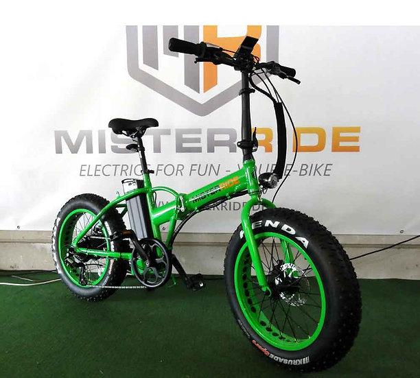"""Misterride Basic Klapp E-Bike Fat Mod: 7000 grass grün sportive 20"""""""