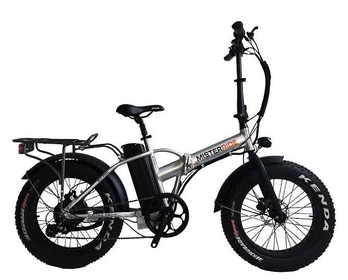 """Misterride Klapp E-Bike Fat Mod: 7000 Alu poliert sportive 20"""""""
