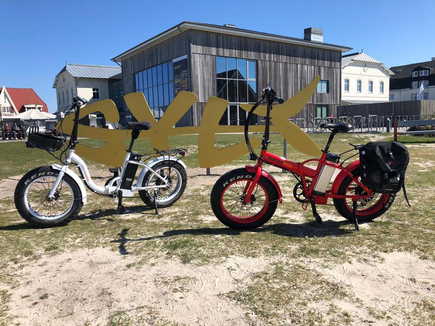 misterride-sylt-Kunden Fahrradtour Ebike