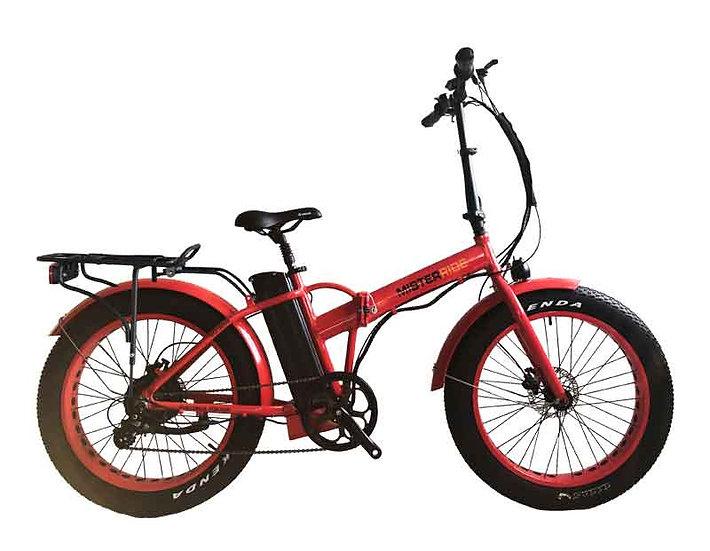 """Misterride Klapp E-Bike Fat Mod: 9000 rot sportive 24"""""""