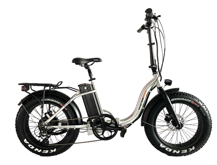 Misterride Klapp E-Bike Fat Mod: 6000 Alu poliert Tiefeinstieg