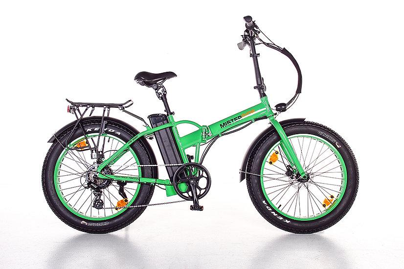 """Misterride Klapp E-Bike Fat Mod: 9000 grass grün sportive 24"""""""