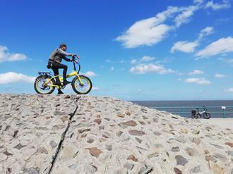 misterride-hooksiel kundenfahrt fahrradt