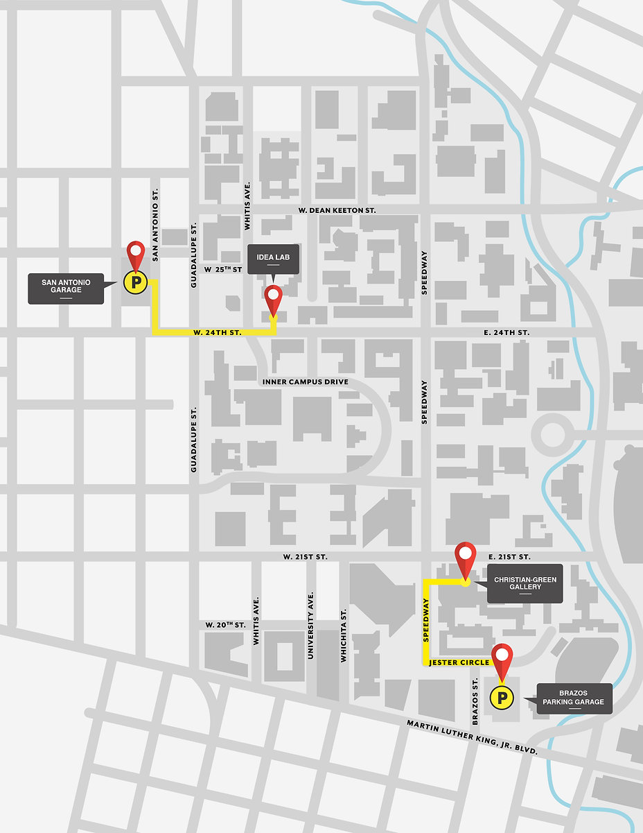 Map of Black Studies Galleries