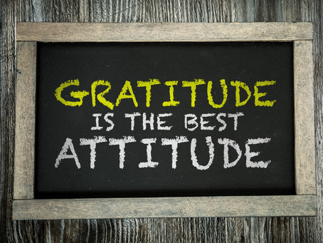 Attitude of Gratitude: Magic of Being Thankful