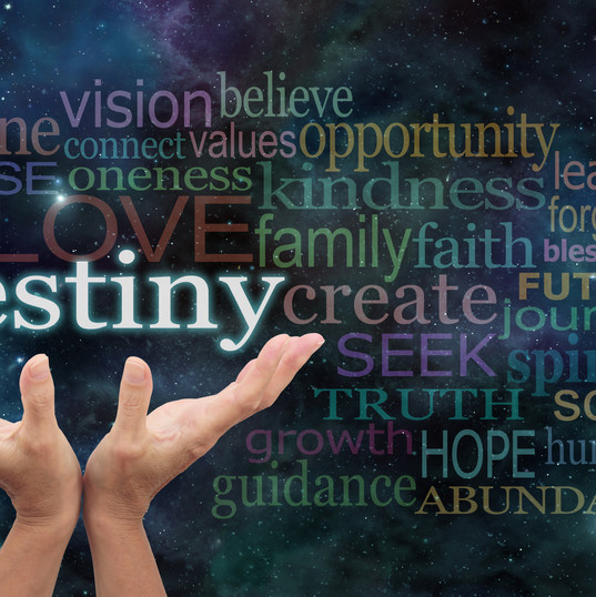 Your Destiny is in Your Hands - Female h