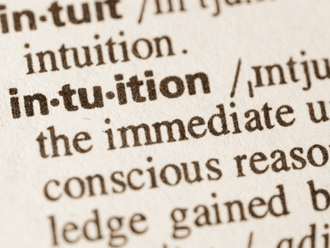 MEET YOUR INTUITION: Your Internal Guru