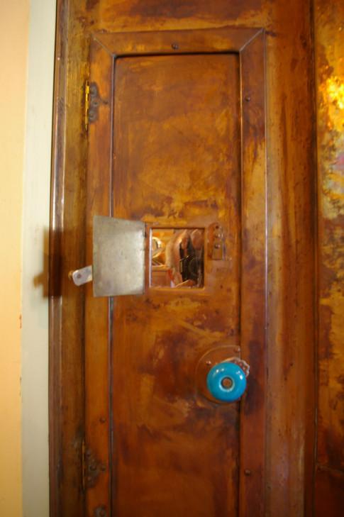Door on door