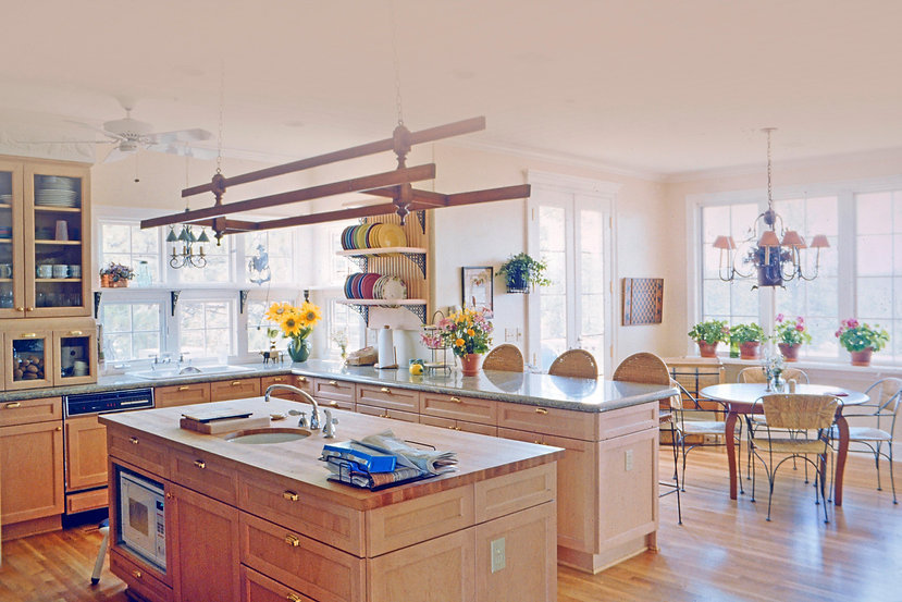 French Country home and kitchen