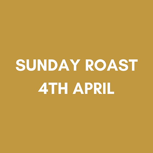 Our Famous Sunday Roast | Sun 4th April | Heaney At Home | Collection Only