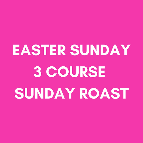 Easter Sunday Roast | Sun 4th April | Heaney At Home | Collection Only