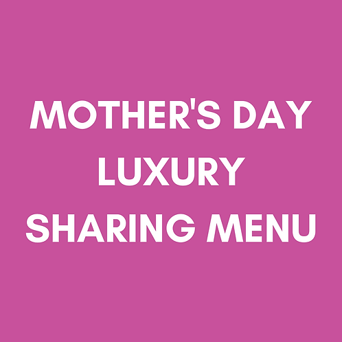 Mother's Day Luxury Menu   Sun 14th March   Heaney At Home   Delivery Sat 13th