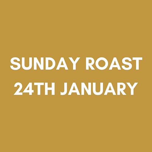 Our Famous Sunday Roast   Sun 24th January   Heaney At Home   Delivered Saturday