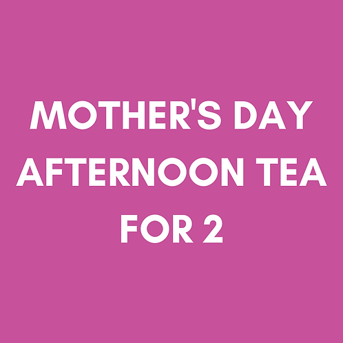 Mother's Day Afternoon Tea | Sun 14th March | Heaney At Home | Delivery Sat 13th