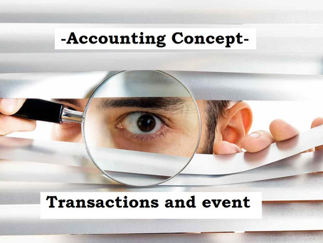 Accounting Transactions and event