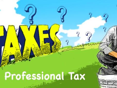 Professional Tax in Maharashtra