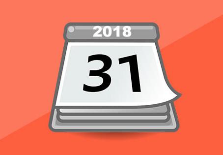 Compliance Calendar - March 2018