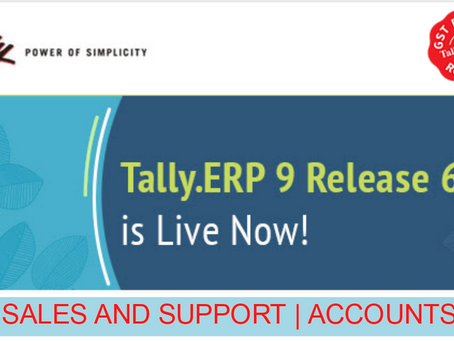 New feature in Tally.ERP 9 Release 6.3.2
