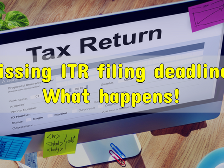 Belated income tax return :  There's still a chance for filing your income tax return.