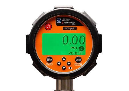 Digital pressure chart recorder