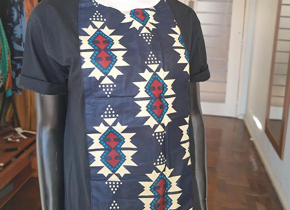 Camiseta Capulana Azul Marinho